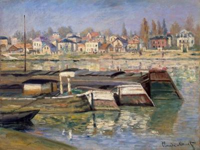 Seine at Asnieres, 1873 by Claude Monet