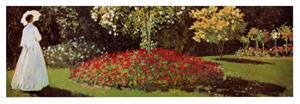Signora (detail) by Claude Monet