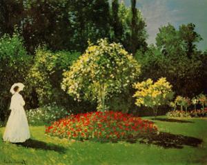 Signora in Giardino by Claude Monet