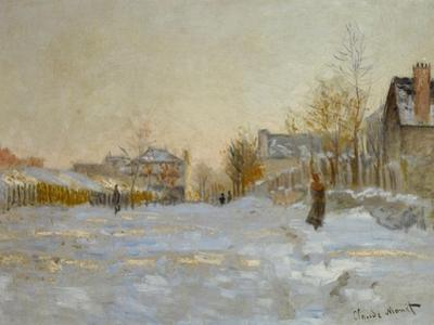 Snow in Argenteuil, 1875