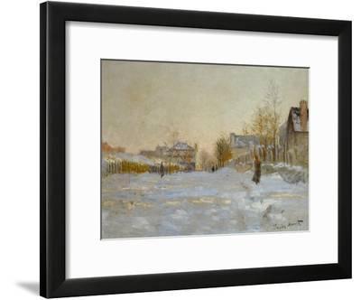 Snow in Argenteuil, 1875