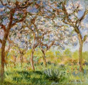 Spring at Giverny by Claude Monet