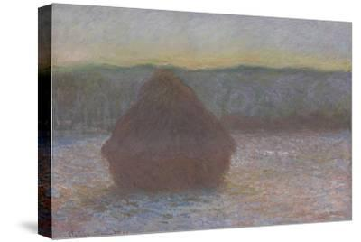 Stack of Wheat (Thaw, Sunset), 1890-91