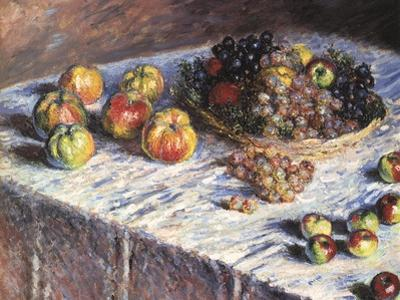 Still-Life: Apples and Grapes, 1880 by Claude Monet