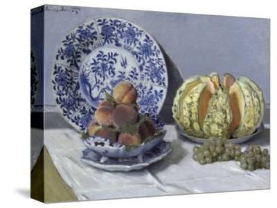 Still Life with Melon by Claude Monet