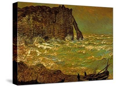 Storm at Etretat, 1883