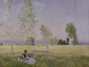 Summer, 1874 by Claude Monet