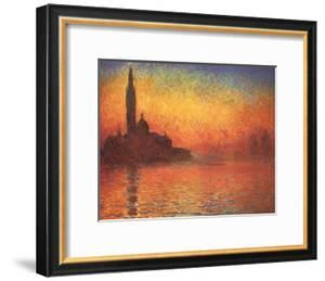 Sunset In Venice by Claude Monet