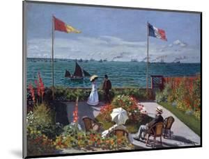 Terrasse À Sainte-Adresse (Terrace at Sainte-Adresse) by Claude Monet