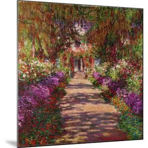 The Artist's Garden at Giverny, 1902 by Claude Monet