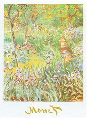The Artist's Garden at Giverny, c. 1900