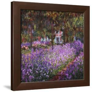 The Artist's Garden At Giverny, c.1900 by Claude Monet