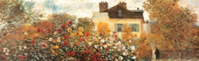 The Artist's Garden in Argenteuil (detail)