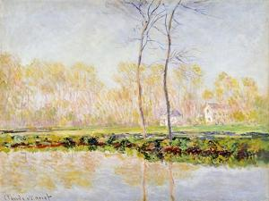 The Banks of the River Epte at Giverny, 1887 by Claude Monet