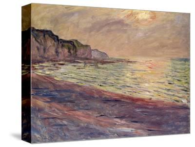 The Beach at Pourville, Setting Sun, 1882