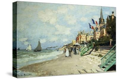 The Beach at Trouville; La Plage a Trouville, 1870