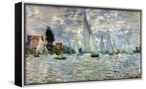 The Boats, or Regatta at Argenteuil, circa 1874 by Claude Monet