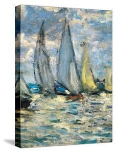 The boats or regatta in Argenteuil (detail) around 1874, by Claude Monet