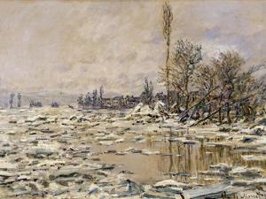 The Break-Up of the Ice, 1880 by Claude Monet