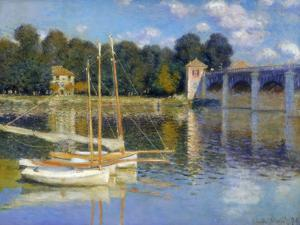 The Bridge at Argenteuil, 1874 by Claude Monet