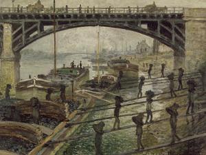 The Coalmen, C. 1875 by Claude Monet