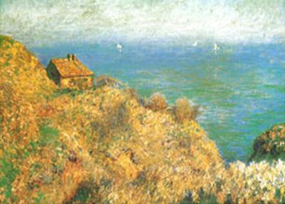 The Custom Officer's House at Varengeville by Claude Monet
