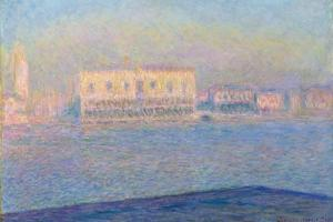 The Doge's Palace Seen from San Giorgio Maggiore, 1908 by Claude Monet