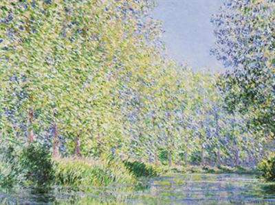 The Epte River near Giverny by Claude Monet