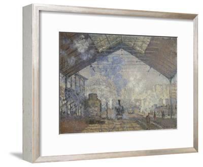 The Gare Saint-Lazare, 1877