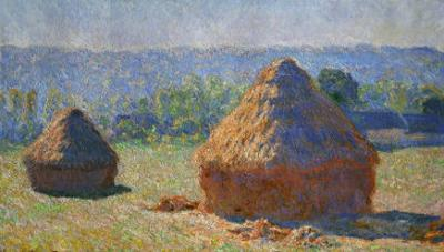 The Haystacks, End of Summer, Giverny, 1891