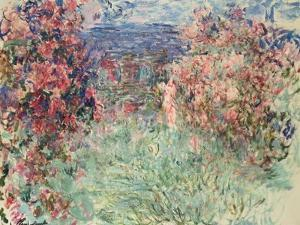The House Among the Roses (La Maison Dans Les Roses), 1925 by Claude Monet