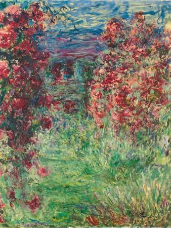 The House at Giverny under the Roses; La Maison Dans Les Roses, 1925 by Claude Monet