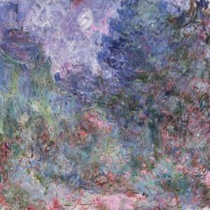 The House at Giverny Viewed from the Rose Garden, 1922-24 by Claude Monet