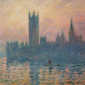 The Houses of Parliament, Sunset, 1903 by Claude Monet