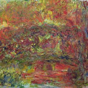 The Japanese Bridge, 1918-24 by Claude Monet