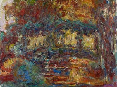 The Japanese Bridge, C.1923-25 by Claude Monet