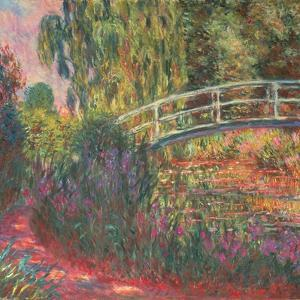 The Japanese Bridge in the Garden of Giverney, 1900 by Claude Monet