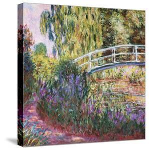 The Japanese Bridge, Pond with Water Lilies, 1900 by Claude Monet