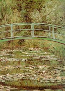 The Japanese Bridge by Claude Monet