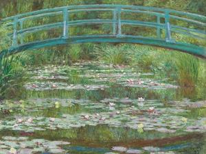 The Japanese Footbridge, 1899 by Claude Monet