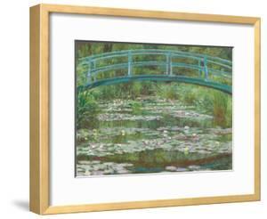The Japanese Footbridge, 1899 by Claude Monet