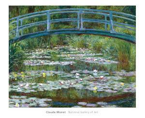 The Japanese Footbridge, c.1899 by Claude Monet