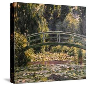 The Japanese Footbridge, Giverny by Claude Monet