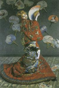 The Japanese Woman by Claude Monet