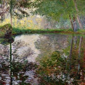 The Lake at Montgeron by Claude Monet