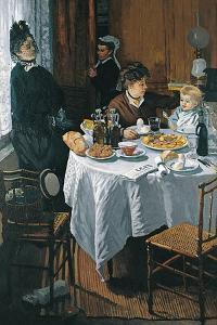 The Luncheon (Le Déjeune) by Claude Monet