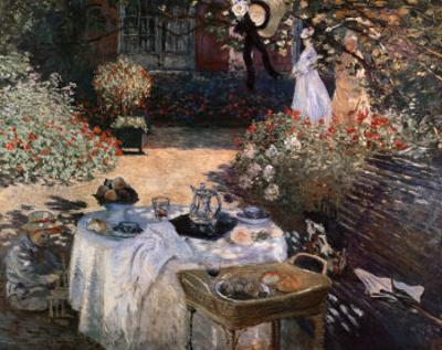 The Luncheon: Monet's Garden at Argenteuil