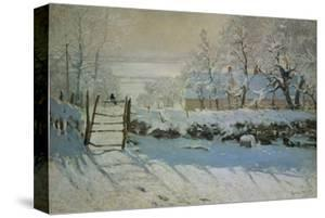 The Magpie, 1868/69 by Claude Monet