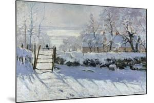 The Magpie, 1869 by Claude Monet