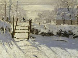 The Magpie, c.1869 by Claude Monet
